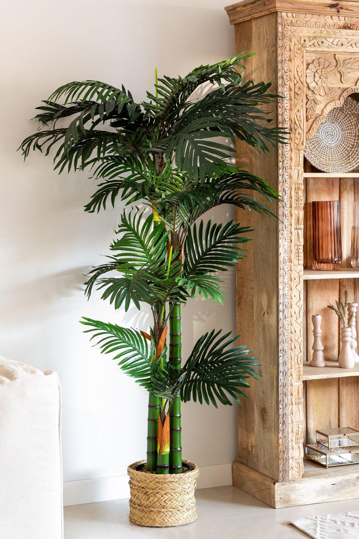 Planta Artificial Decorativa Palmera, imagen de galería 1