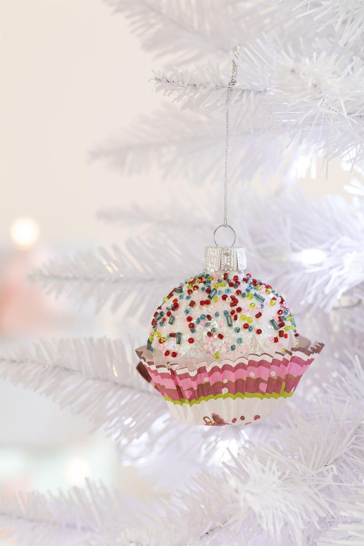 Adorno de Navidad Muffin, imagen de galería 1