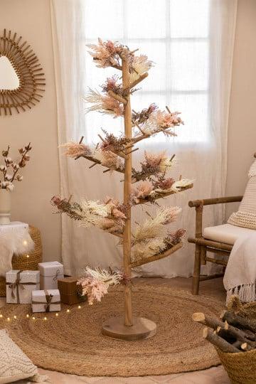 Árbol de Navidad en Madera de Teca Abies