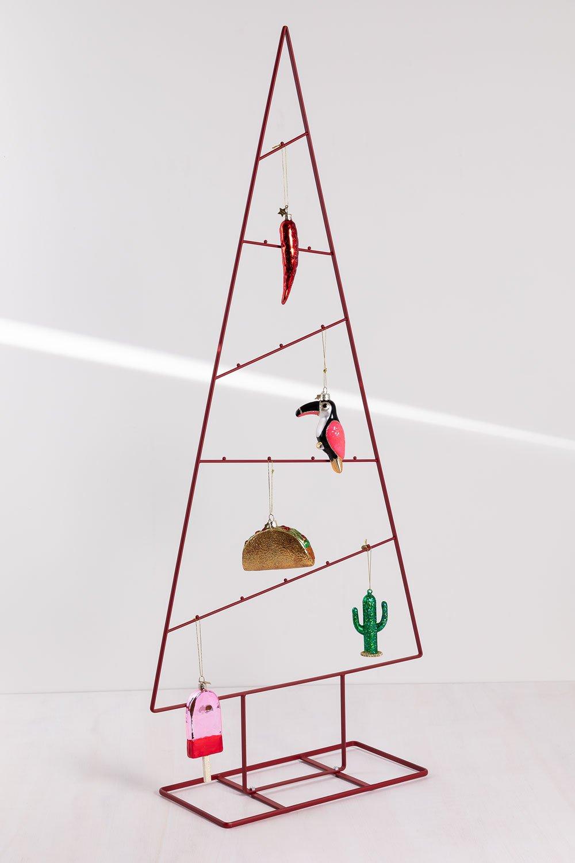 PACK  Árbol de Navidad Trey y Adornos, imagen de galería 1