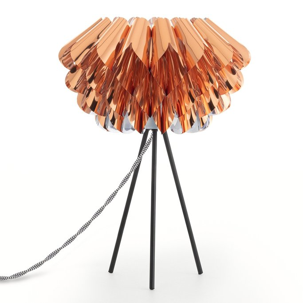 Lámpara para Mesa de PVC Krep PVC, imagen de galería 1