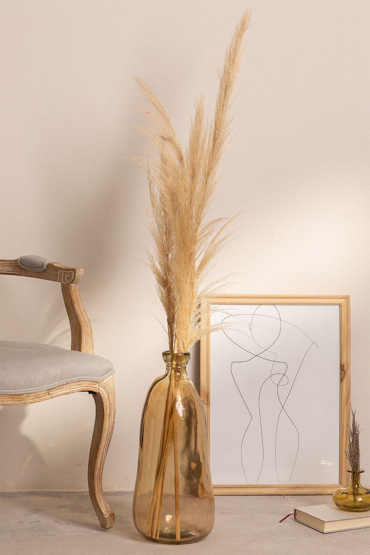 Jarrón en Vidrio Reciclado 50 cm Boyte, imagen de galería 1