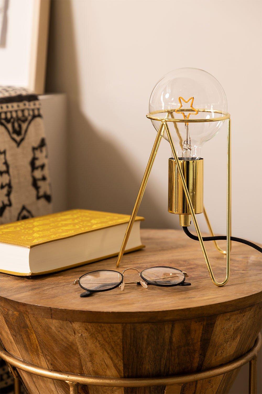 Lámpara de Mesa Metalizada Kate, imagen de galería 1