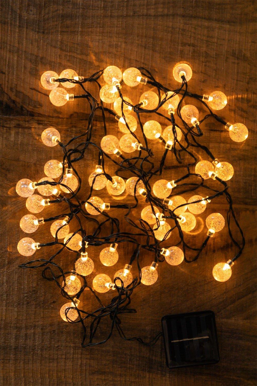 Guirnalda LED con Cargador Solar (5 m y 7 m) Pepo , imagen de galería 1