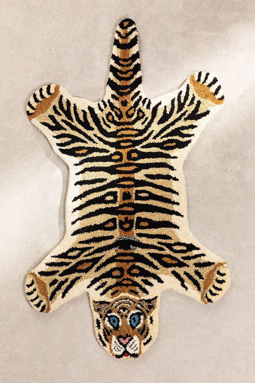 Alfombra de Lana (100x60 cm) Kumal Kids, imagen de galería 1