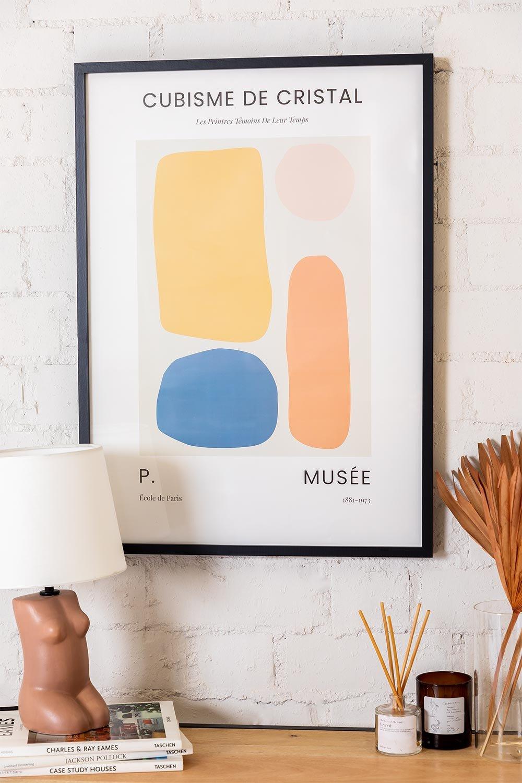 Lámina Decorativa (50x70 cm) Krista, imagen de galería 1