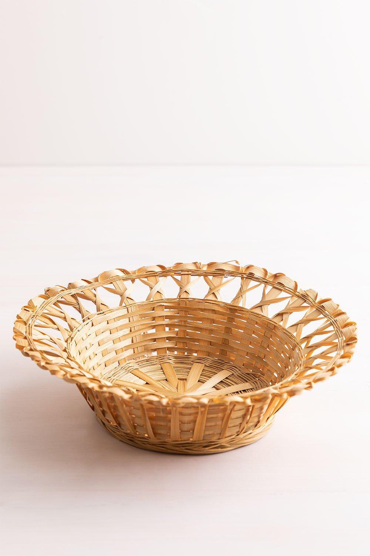 Plato Decorativo en Bambú Rewa, imagen de galería 1
