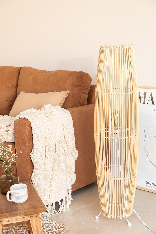 Lámpara de Pie en Bambú Khumo, imagen de galería 1