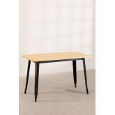 Table LIX Vintage en Bois (120x60), image miniature 2