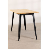 Table LIX Vintage en Bois (120x60), image miniature 3