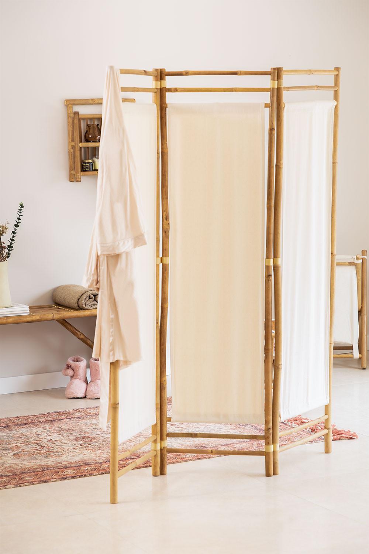 Paravent en bambou Alfred, image de la galerie 1