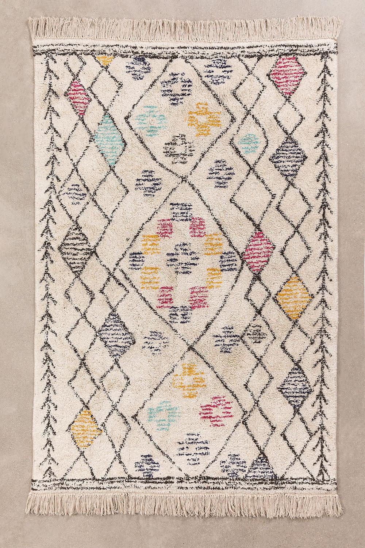 Tapis en coton (180x120 cm) Jalila, image de la galerie 1