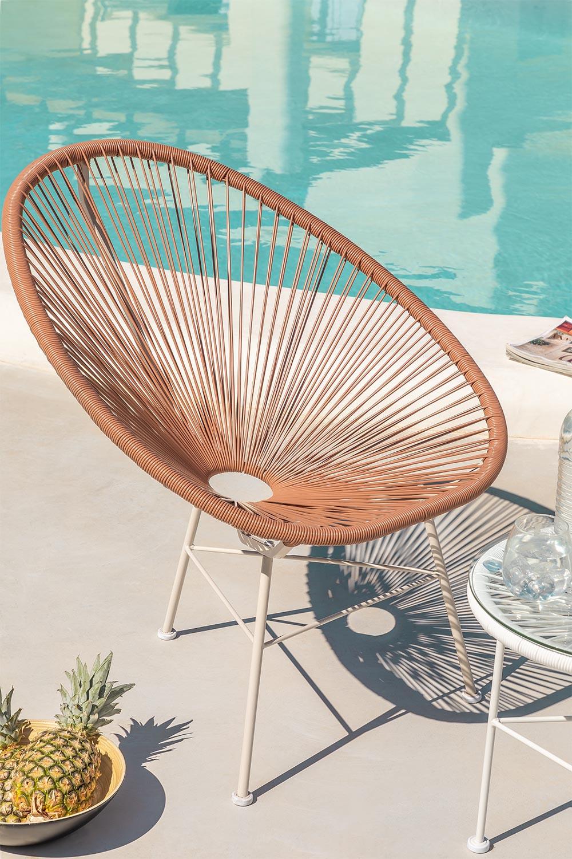 Chaise New Acapulco White, image de la galerie 1