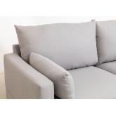 Canapé d'angle 5 places en tissu Austin, image miniature 5
