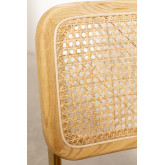 Chaise de salle à manger en similicuir doré Tento, image miniature 5