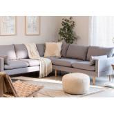 Canapé d'angle 5 places en tissu Austin, image miniature 1
