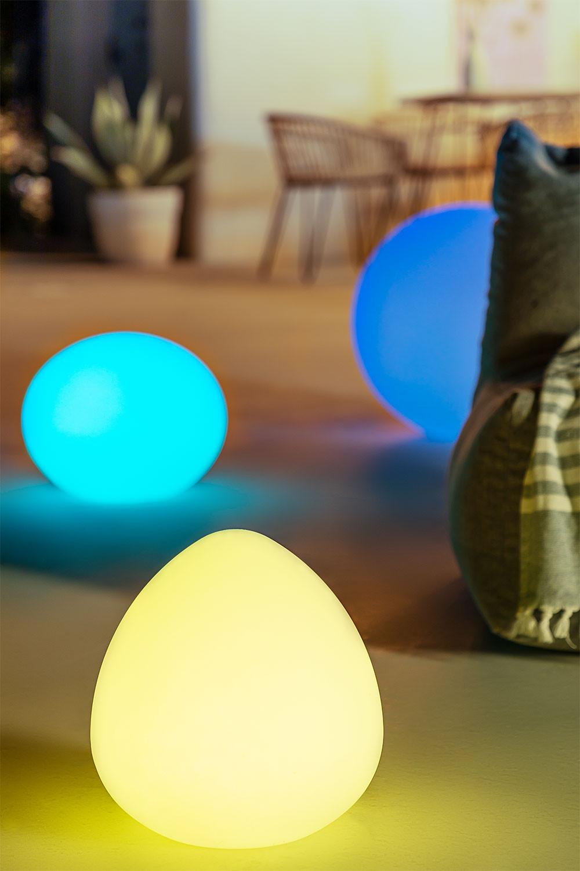 Lampe LED d'extérieur Fahgo, image de la galerie 1
