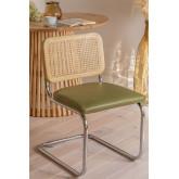 Chaise de salle à manger en similicuir Tento, image miniature 1