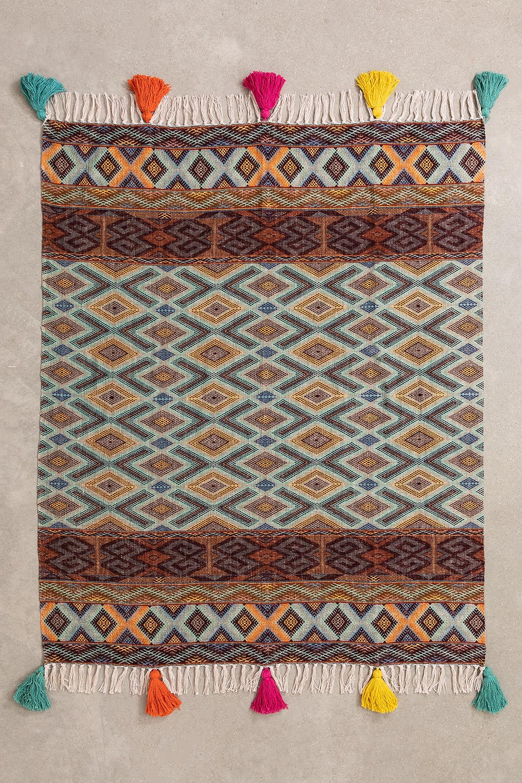 Couverture Plaid en coton Axi, image de la galerie 1