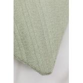 Coussin avec broderie en coton (45x45 cm) Pufi, image miniature 3
