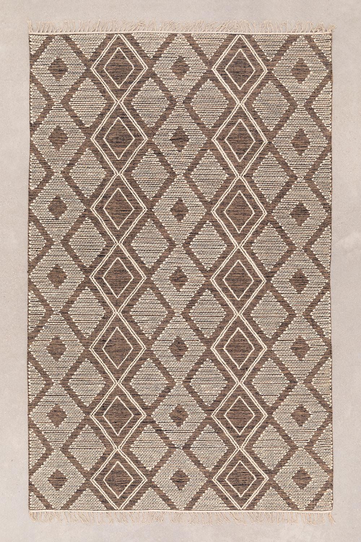 Tapis en coton et laine (250x160 cm) Hiwa, image de la galerie 1