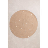 Tapis rond en jute naturel (Ø150 cm) Naroh, image miniature 1