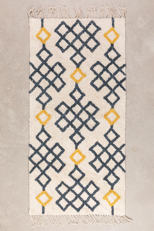 Tapis en coton (160x70 cm) Mandi, image de la galerie 1