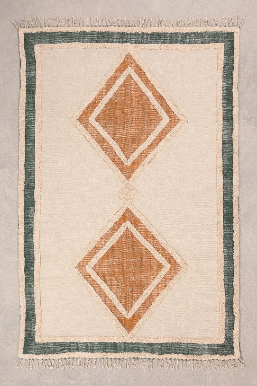 Tapis en coton (185x120 cm) Derum, image de la galerie 1
