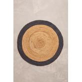 Tapis rond en jute naturel Dagna Colors, image miniature 1