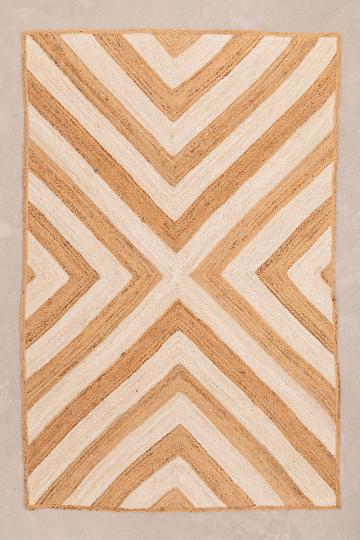Tapis en jute naturel (245x155 cm) Jabiba