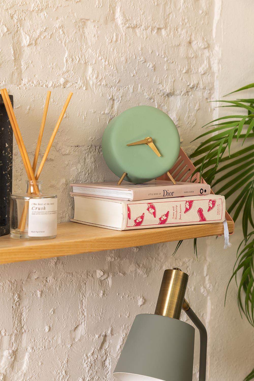 Horloge de table en ciment Clok, image de la galerie 1