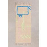 Tapis en coton (145x52 cm) Fania, image miniature 1