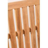 Fauteuil de jardin en bois de teck Confi, image miniature 6