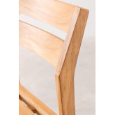 Chaise de jardin en bois de teck Yolen, image miniature 5