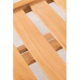 Chaise de jardin en bois de teck Yolen, image miniature 6