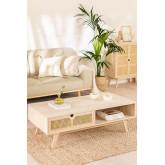 Table basse en bois de style Ralik, image miniature 1
