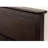 Lit en bois de teck pour matelas Somy 160 cm, image miniature 6
