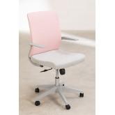 Chaise de bureau Yener avec roues , image miniature 3