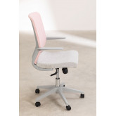 Chaise de bureau Yener avec roues , image miniature 4