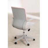 Chaise de bureau Yener avec roues , image miniature 5