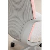 Chaise de bureau Yener avec roues , image miniature 6