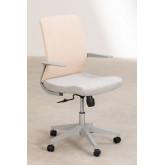 Chaise de bureau Yener avec roues , image miniature 2