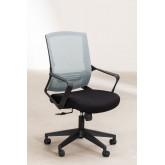 Chaise de bureau avec roues, couleurs de travail, image miniature 3