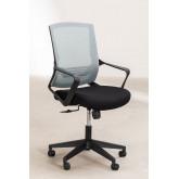 Chaise de bureau avec roues, couleurs de travail, image miniature 4