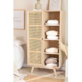Armoire en bois de style Ralik avec 1 porte, image miniature 1