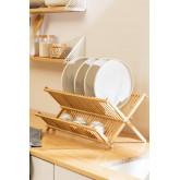 Égouttoir à vaisselle en bambou Taika, image miniature 1
