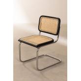 Chaise de salle à manger en rotin Tento, image miniature 3