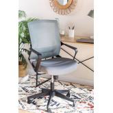 Chaise de bureau avec roues, couleurs de travail, image miniature 1