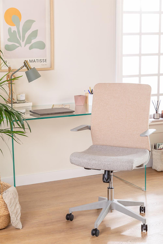 Chaise de bureau Yener avec roues , image de la galerie 1