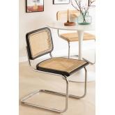 Chaise de salle à manger en rotin Tento, image miniature 1